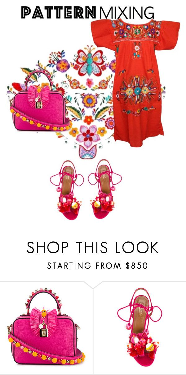 """""""Untitled #39"""" by simple7-1 ❤ liked on Polyvore featuring Dolce&Gabbana and Aquazzura"""