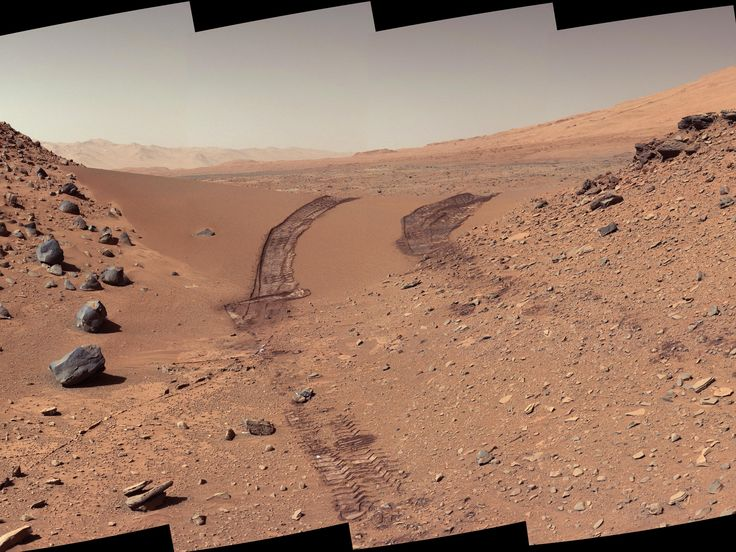 Mars :WIRED Space Photo of the Day | Feb. 22, 2014: Look Back Tracks  NASA/JPL-Caltech/MSSS  | WIRED.com