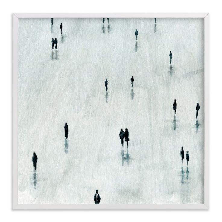 """""""Sombras"""" - Art Print by Lulaloo in beautiful frame options and a variety of sizes."""