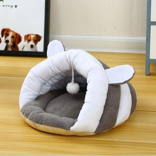 Pet Cat Small Dog Puppy Kennel Bed Sofa Sleeping Soft Polar Fleece