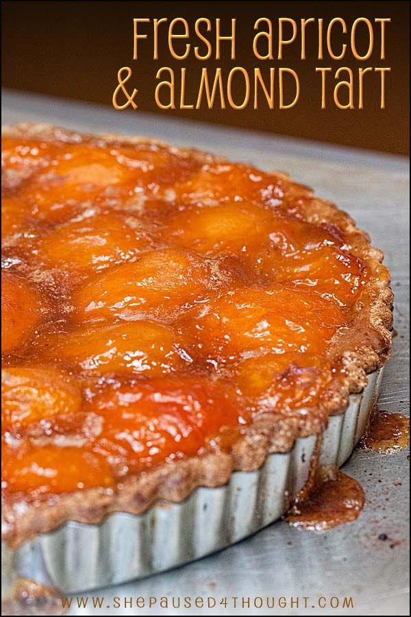 Fresh Almond Apricot Tart   Cathy Arkle