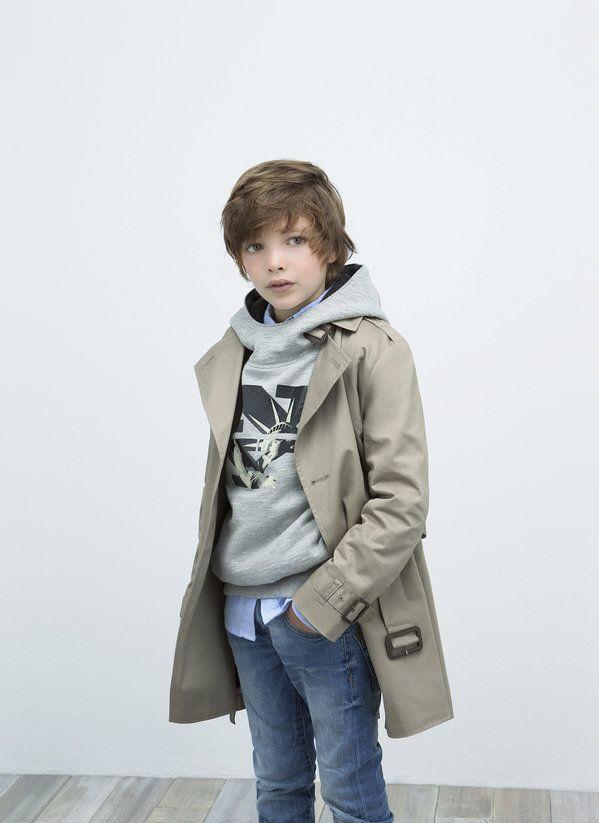 Trench Coat (August - Kids - Lookbook - ZARA United States)