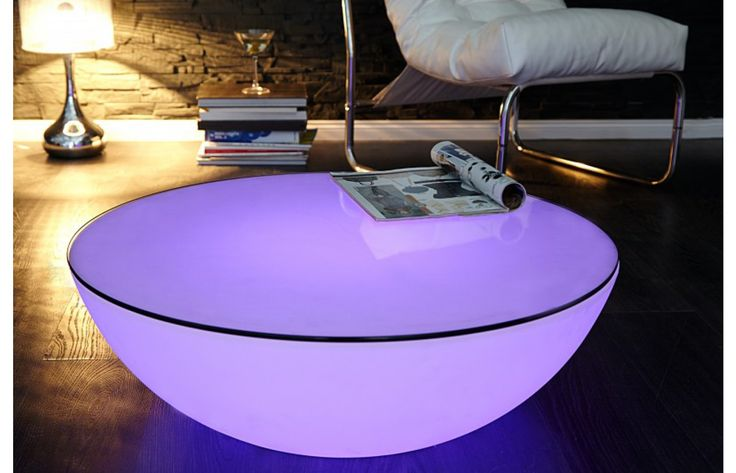 designer couchtisch shine led mit farbwechsel exklusiv bei sofa dreams couchtische von sofa. Black Bedroom Furniture Sets. Home Design Ideas