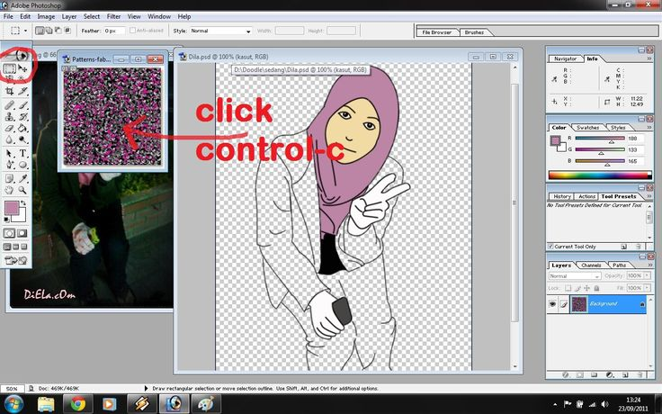 HANIMOFA: Once Upon a Time: Tutorial lukis kartun dari gambar original.