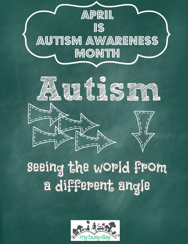 Autism - a difference way of viewing the world.