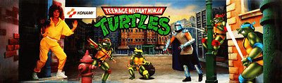 Tmnt #arcade game marquee - #upright #video game translite,  View more on the LINK: http://www.zeppy.io/product/gb/2/122300058206/