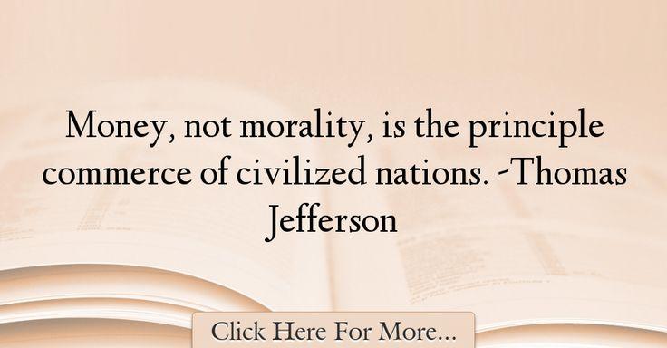 Thomas Jefferson Quotes About Money - 47269