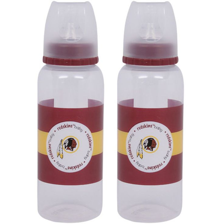 Washington Redskins 2-Pack Baby Bottles