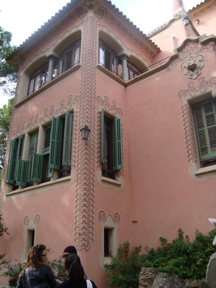 Casa Museo A.Gaudì, Barcellona, Spain