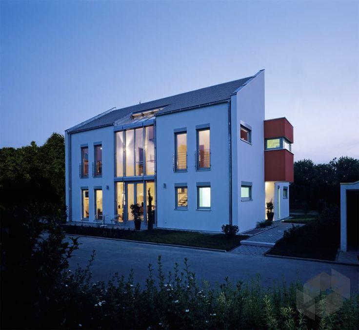 50 best fertighaus images on pinterest einfamilienhaus. Black Bedroom Furniture Sets. Home Design Ideas