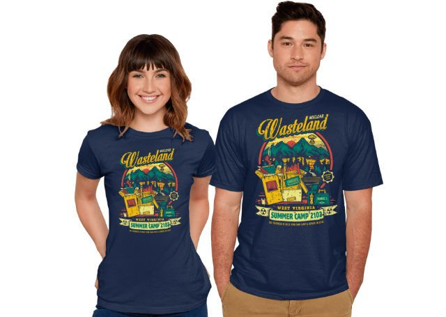 Nuclear Summer Camp - Fallout 76 T-Shirt | Gamer Tees