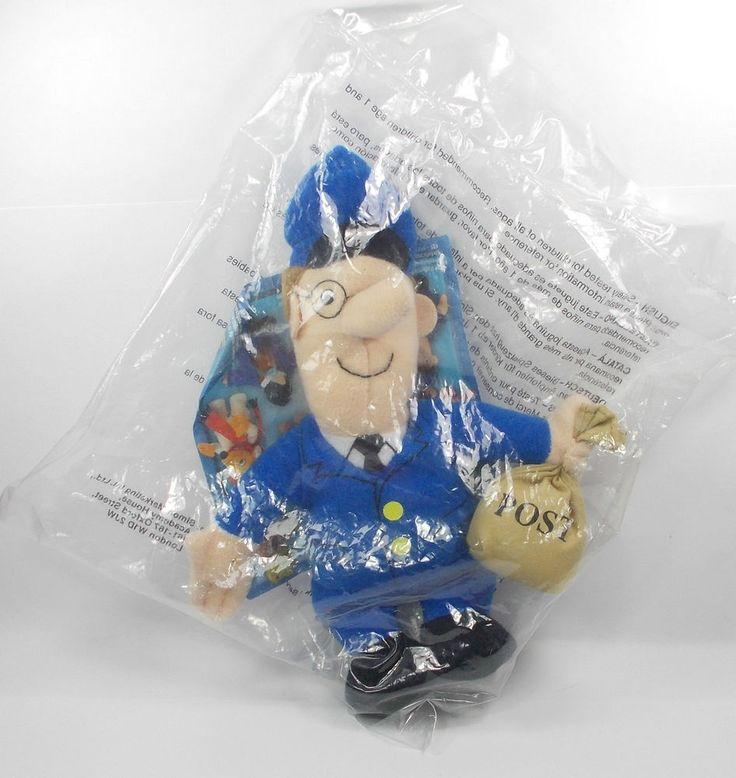 Postman Pat - Soft Toy Figure - Cake Topper (1)