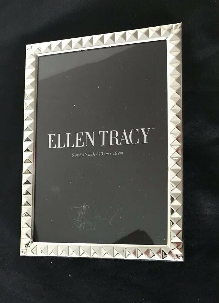 8x10 Silver Bamboo Photo Frame By Ellen Tracy Fashion Home Garden Homedcor Frames Ebay Link Bamboo Photo Frame