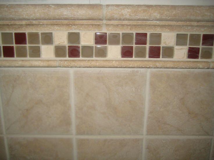 Accent Tiles For Bathroom Tile Shower Design Tile Bathroom Shower Remodeling Design And