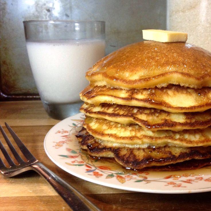 Mau Cocina de Todo: Cornbread Pancakes (Hotcakes de maiz)