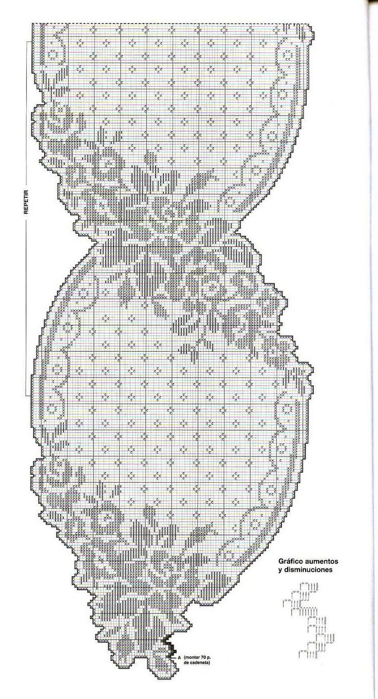 1087 best crochet chart pattern images on pinterest camera crochet chart filet crochet crochet patterns crocheting table runners mesas chrochet crochet crochet granny bankloansurffo Images