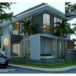 Desain Rumah Minimalis-Kavling Sudut/Hook