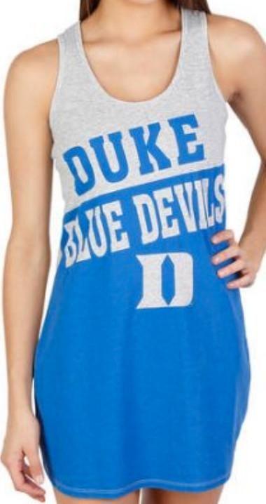 Duke Blue Devils NCAA Pajama Top Nightshirt