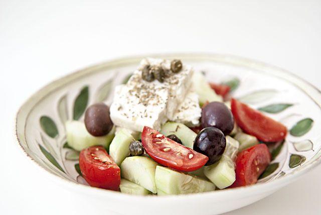 Sweetsonian: The Real Greek Salad