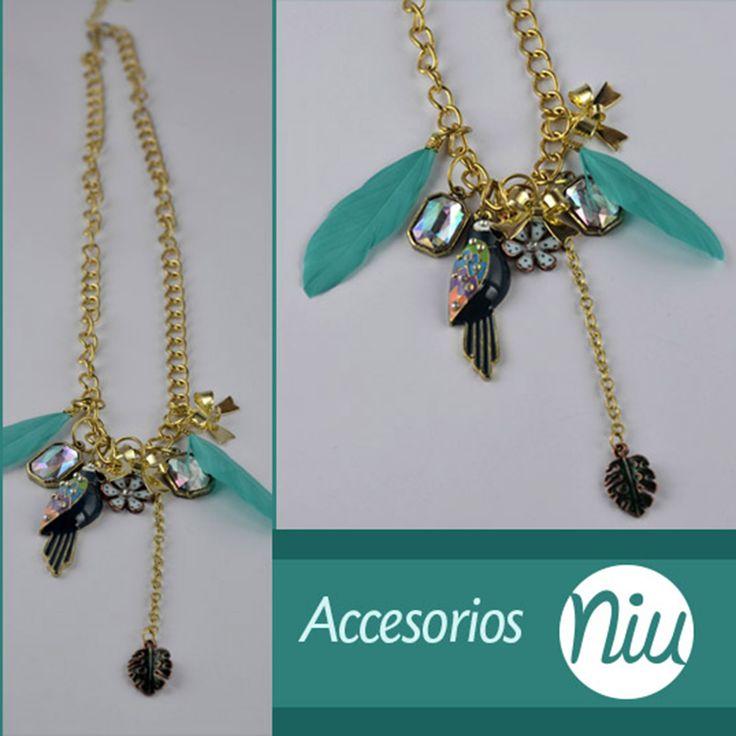 Collares que resaltan tu belleza, encuentra esto y más en: www.niuenlinea.co