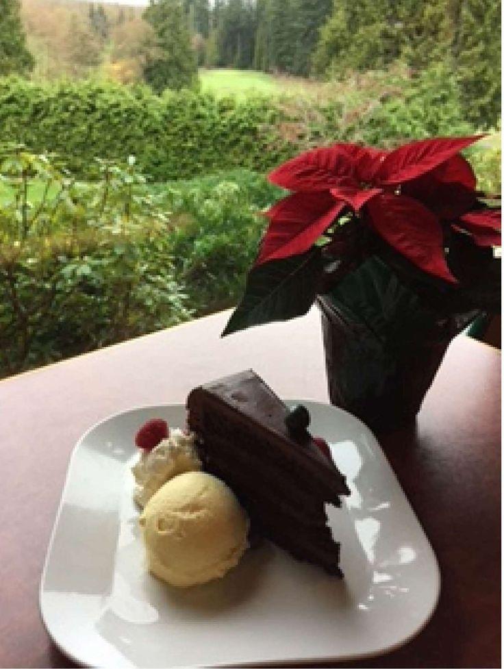 Chocolate Sensation Cake at the Westward Ho!.