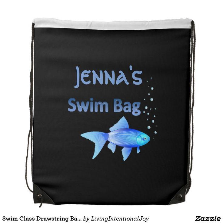 Swim Class Drawstring Backpack