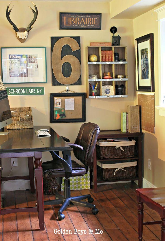 Corner Desk Area Ideas For Teen Boyu0027s Room   Desk Is A Drop Leaf Table From