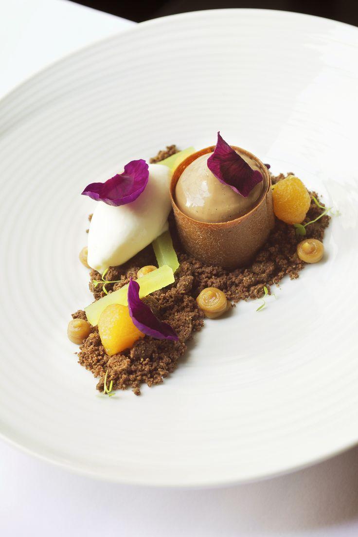 ZEUS dessert #plating #presentation