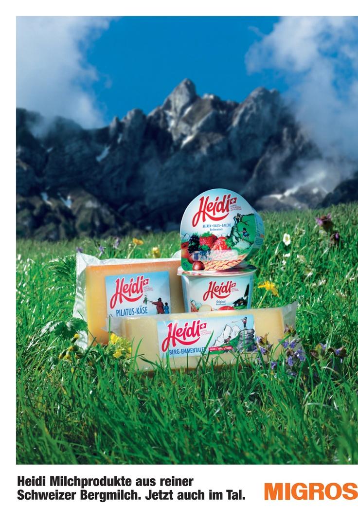 ¨MIGROS Heidi, Switzerland¨  Packaging Design by Daniel Wermuth / wermuthgrafik ©2012  http://www.wermuthgrafik.ch