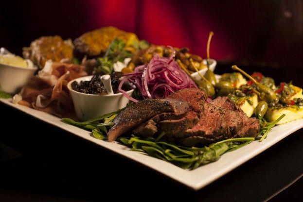 Ploughman's Platter as seen on episode 22 of MKR NZ. http://gustotv.com/recipes/lunch/ploughmans-platter/