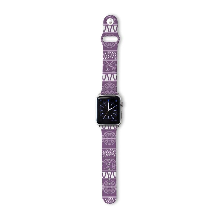 "Famenxt ""Pattern Purple"" Lavender Abstract Apple Watch"