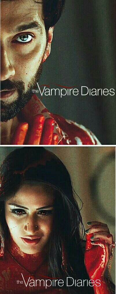 The Vampire Diaries - Season 9 A beautiful young caterer falls for a handsome boy in Oberoi Mansion who is actually a centuries-old vampire struggling to live peacefully among humans. Based on the young-adult book series by F.M. Smith #Ishqbaaaz