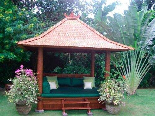 Front Landscape Design With A Small Gazebo: 95 Best Backyard & Front Yard Landscaping Ideas Images On
