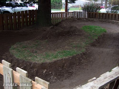 Backyard Pumptrack backyard pump track | yard and garden | pinterest | backyard, bmx
