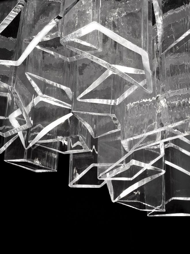ice chandelier by daniel libeskind for lasvit design pinterest daniel o 39 connell ice and. Black Bedroom Furniture Sets. Home Design Ideas
