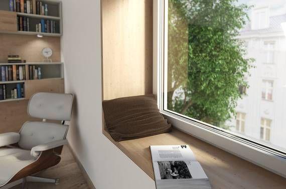 Sitzbank | Blick Beziehung Architektur - Internorm