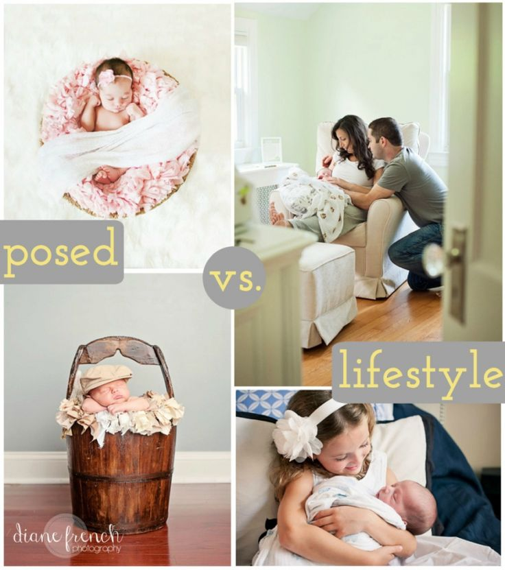 Which newborn style photos are right for you a lifestyle or posed newborn photo session