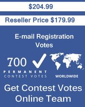 Buy 700 Email Registration Votes at $179.99 Votes from different USA IP Address Bulk Votes Available. Different Country IP address available. www.getcontestvot... #buyonlinevotes #buycontestvotes #buyfacebookvotes #getonlinevotes #getcontestvotes #buyvotesforonlinecontest #buyipvotes #getbulkvotes