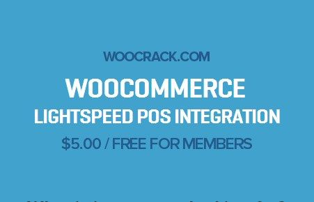 WooCommerce Lightspeed POS Integration 1.2.8, Woocrack.com – WooCommerce Lightspeed POS Integration is a WooCommerce Extensionsdeveloped by Woothemes. WooCommerce Lightspeed POS Integration allowsyou
