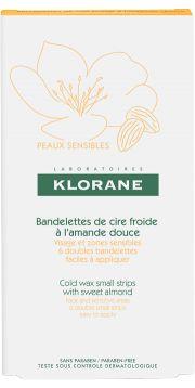 KLORANE | Cire dépilatoire à froid visage / zone sensible