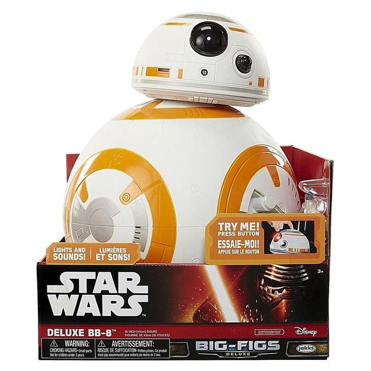 "18"" Star Wars Big Fig Episode VII Massive BB-8 Deluxe Feature Action Figure New #DealsToday"