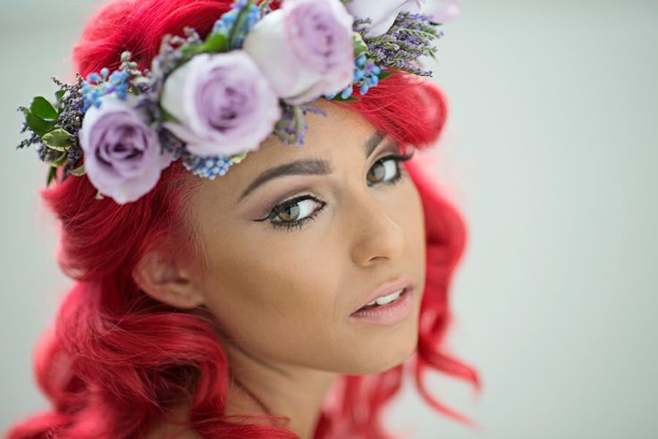 Red Hair Beauty #glam #portrait #redhead #makeup