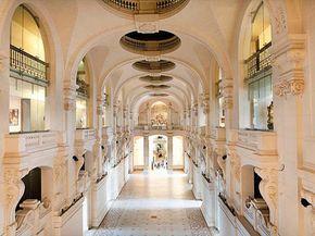 La nef du musée des Arts Décoratifs