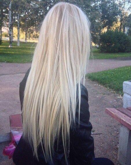 frisuren für lange blonde glatte haare