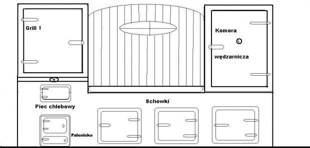 Grillo Wędzarnia+piec chlebowy jpg  Fotosik pl  el   -> Kuchnia Kaflowa Schemat Budowy