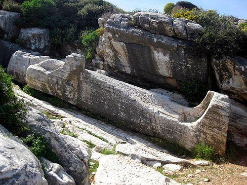 The Kouros - Naxos Island