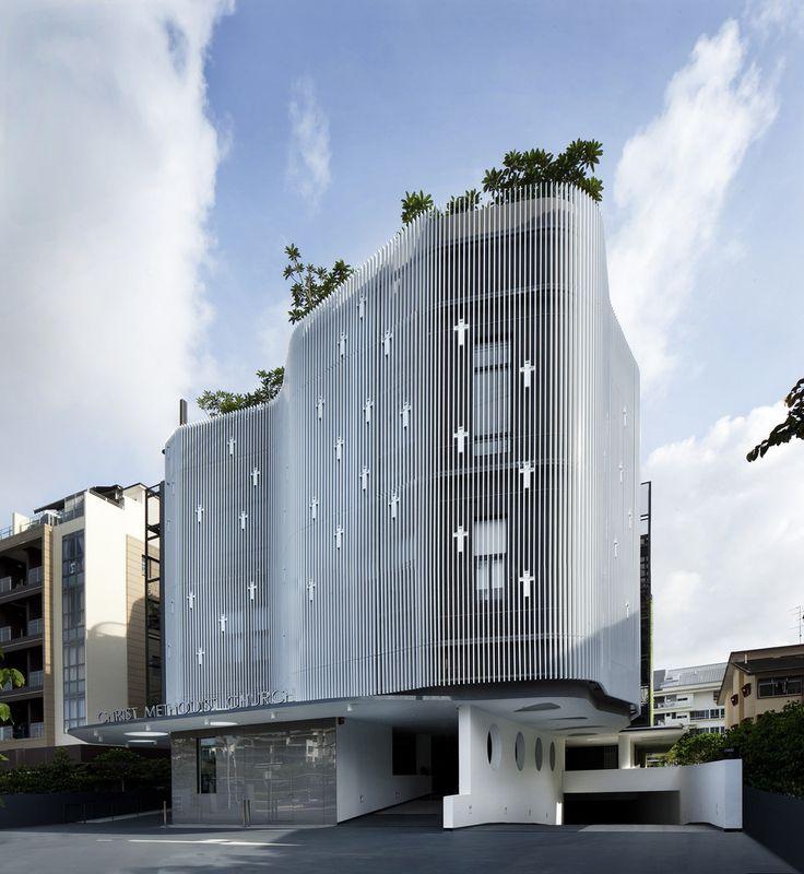 Galeria de Igreja Metodista / K2LD Architects - 1