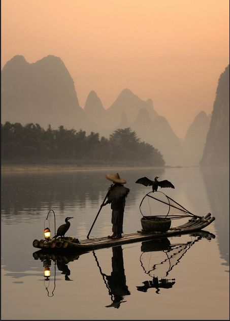 China - I have so many pictures of similar scenes, that I took myself!  Truly a beautiful country.