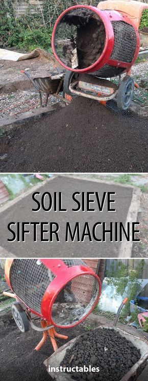 8 best little machines to build images on pinterest coconut soil sieve sifter machine gardening soil horticulture solutioingenieria Choice Image