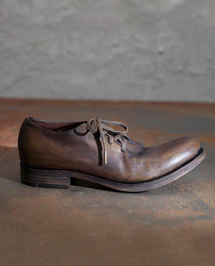 Wholecut derby shoes